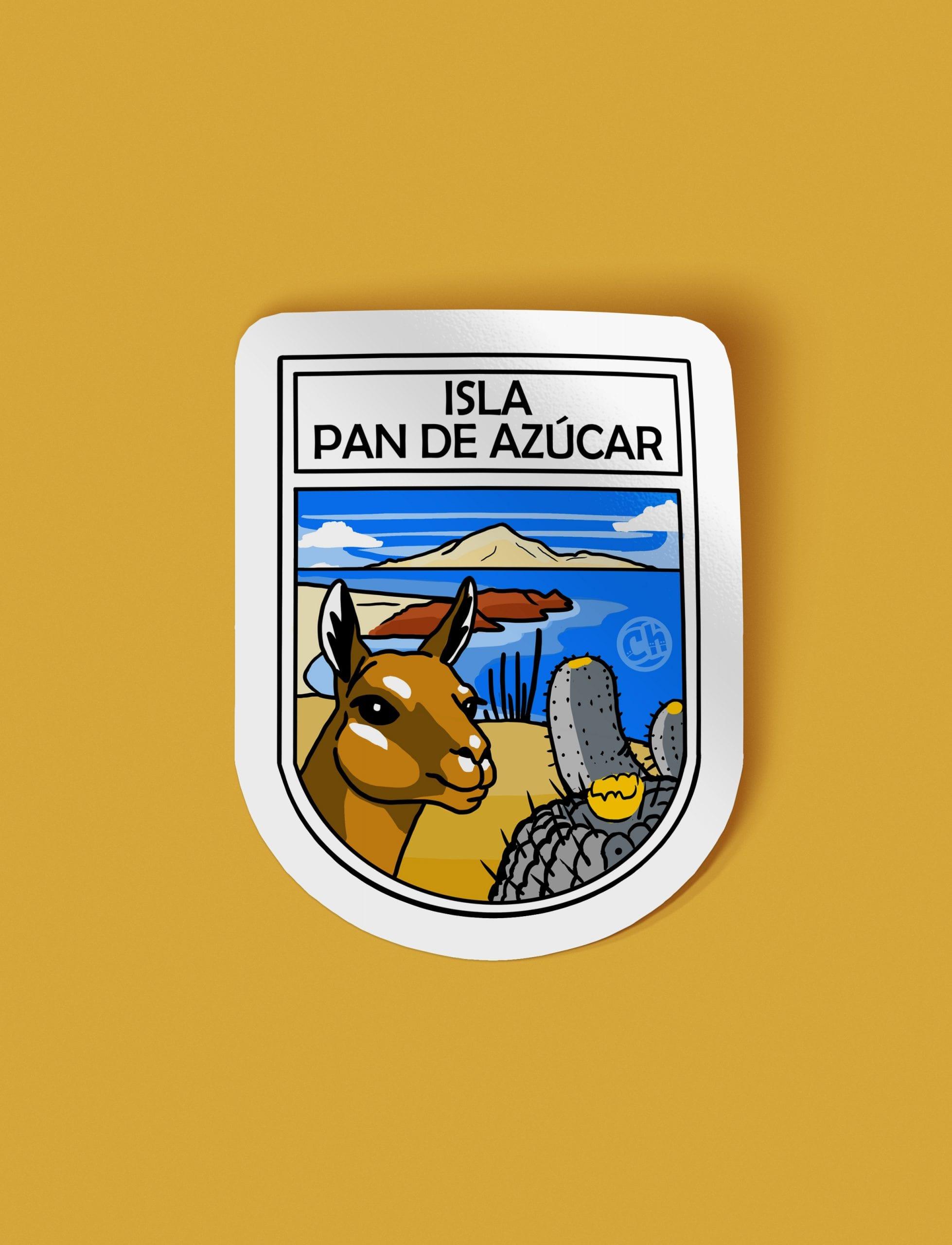 Adhesivo Isla Pan de Azúcar