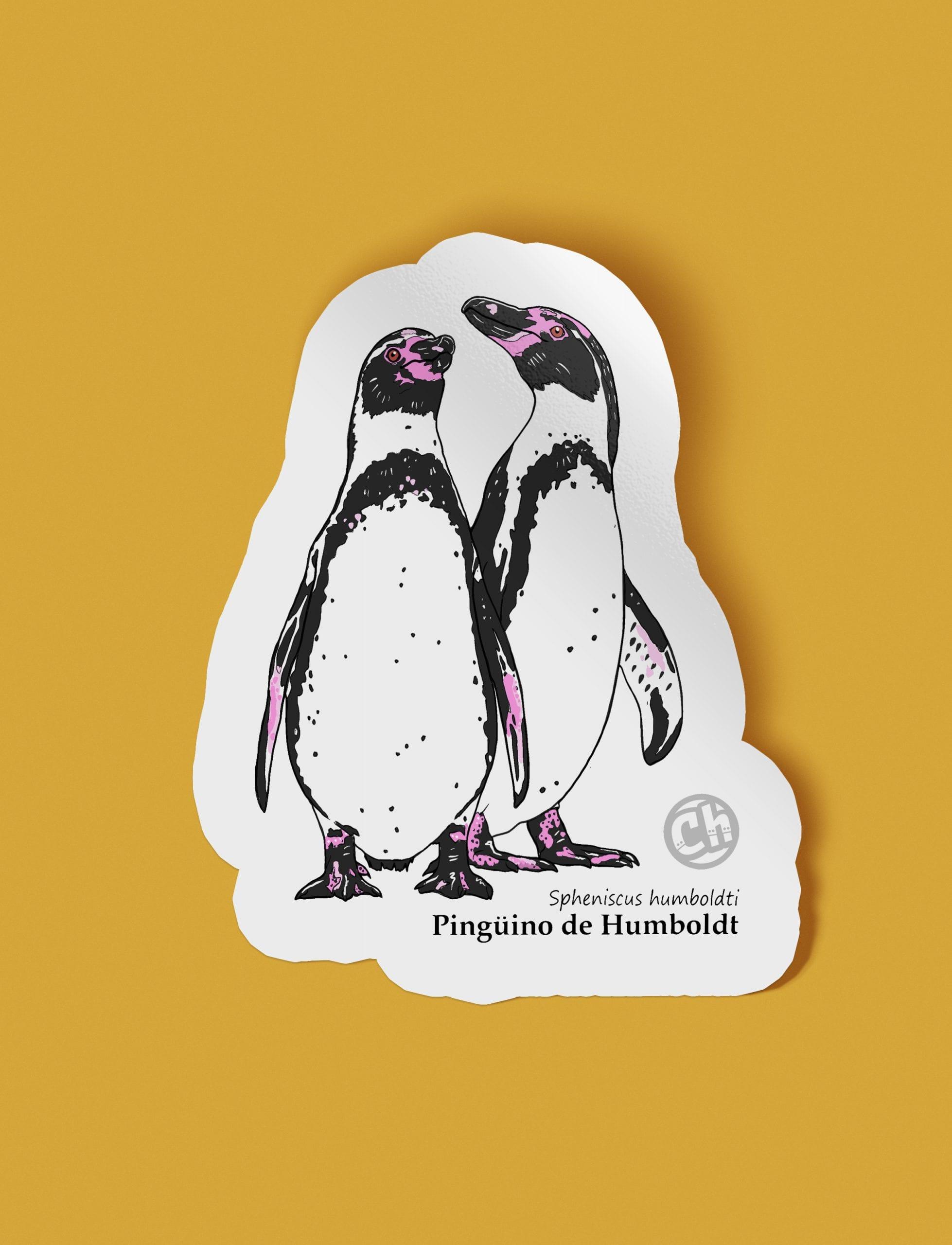 Adhesivo Pingüino de Humboldt